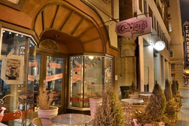 Finish the night at a fantastically flavorful gelato spot/ Photo by Ryan McGill