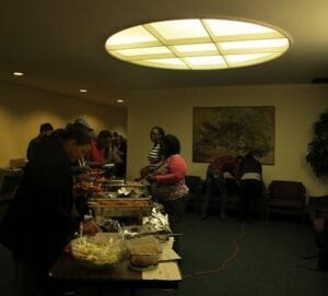 Ghana cuisine was served at the event and showcased traditional spicy dishes.  Danyell Luster/ TNJN