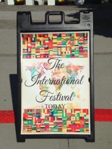 Student organizations of all different cultures came together to display their plethora of talents at this year's International Festival.