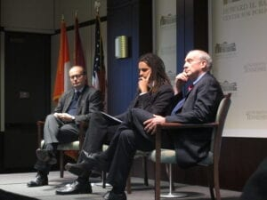 The discussion panel