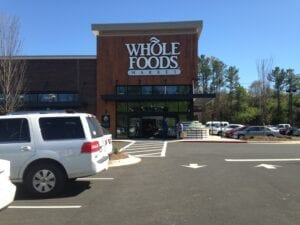 The Whole Foods location at 6730 Papermill Dr., Knoxville, TN 37917.