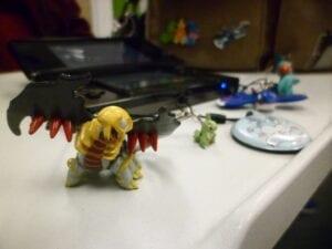 Pokémon Club member, Katherine Forgy, collects a few Pokémon.