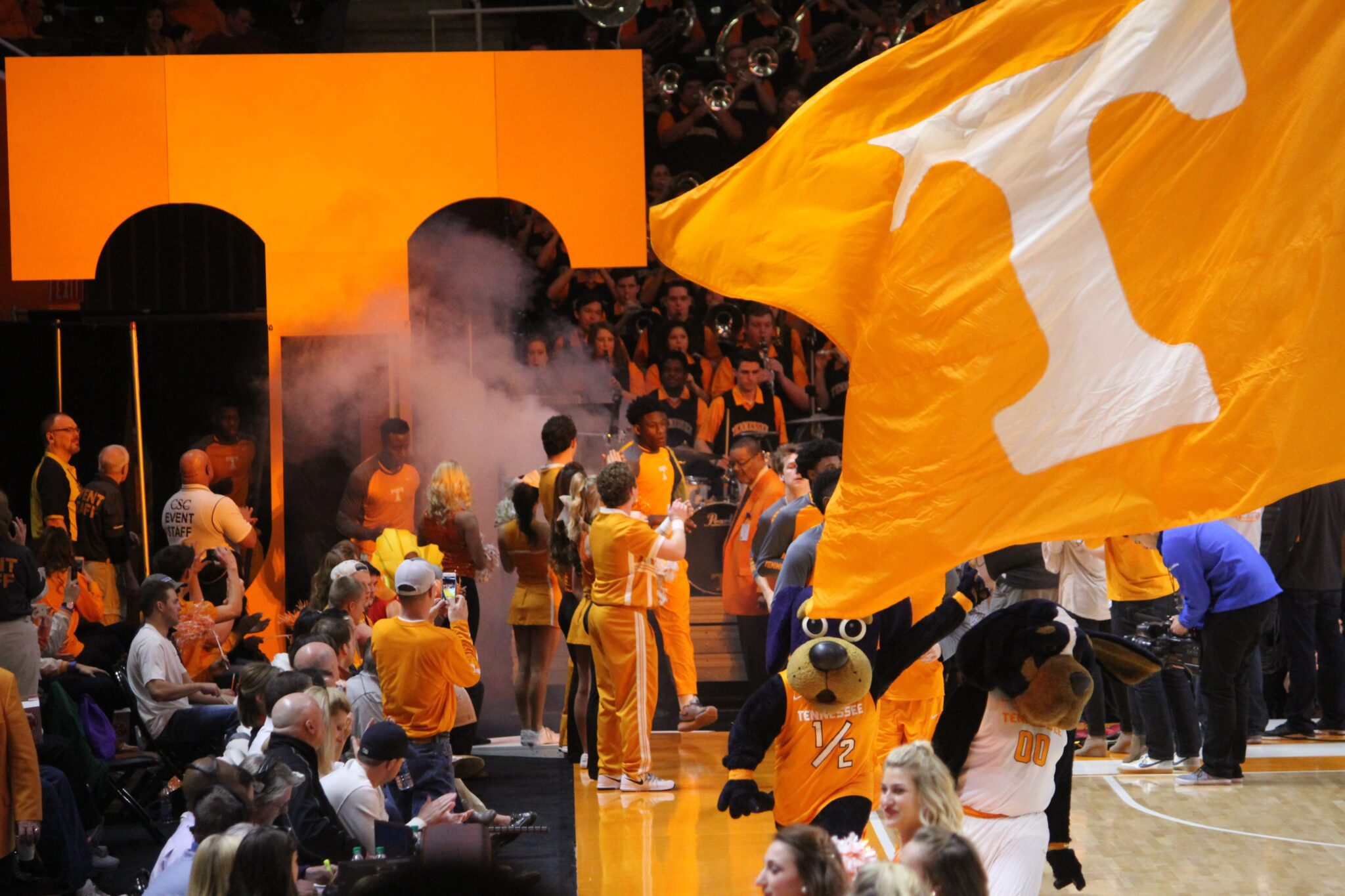 Tennessee's men's basketball team fell to Arkansas for the second time this season on Saturday // Photo by Sam Forman
