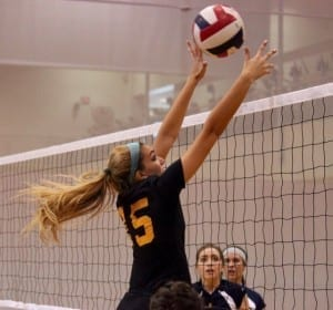 Tennessee's volleyball club is open to any student who wants to join // Photo courtesy of Lana Bednarczyk