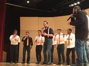 VOLume performs featuring soloist Dalton Mitchell.