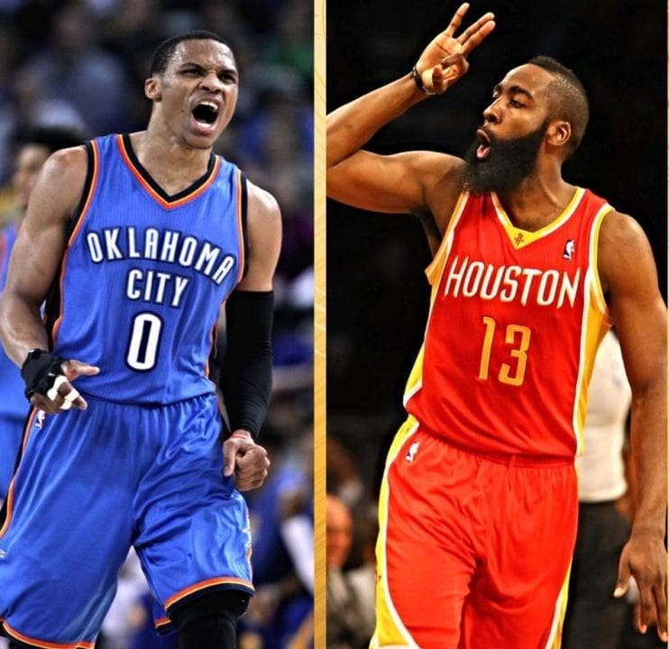 ffba8034292 How the Russell Westbrook-James Harden Death Match will play out ...