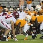 Pruitt promises improvement as Vols fall 58-21 to No. 1 Alabama