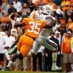 Pruitt 'changes it up' with orange pants, beats Mississippi State