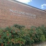 McClung Museum's last homeschool session of the semester