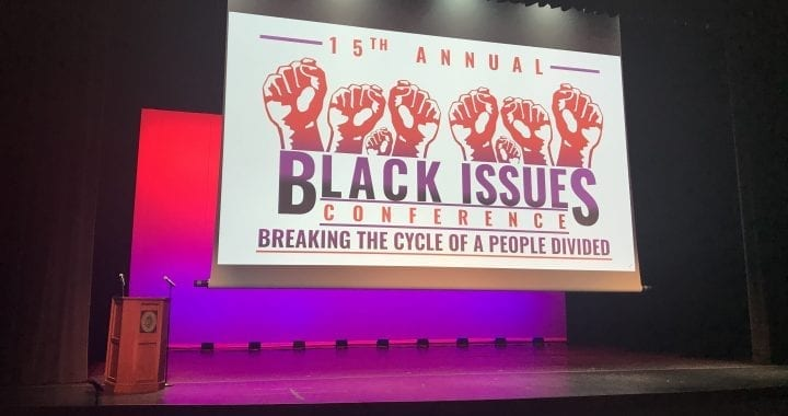 Annual Black Issues Conference logo for 2020.