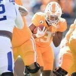 Turnovers topple No. 18 Tennessee in Kentucky game