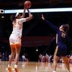 Rae Burrell shines in Lady Vols' win over ETSU