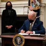 President Biden begins work in the Oval Office(Needs 1 edit)