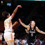No. 25 Tennessee barely falls to No. 3 UConn in a renewal of a historic rivalry