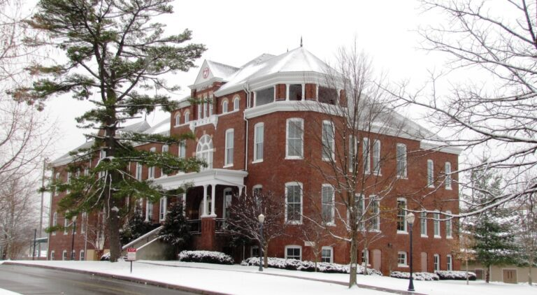 Bartlett Hall today. (Courtesy of Maryville College)